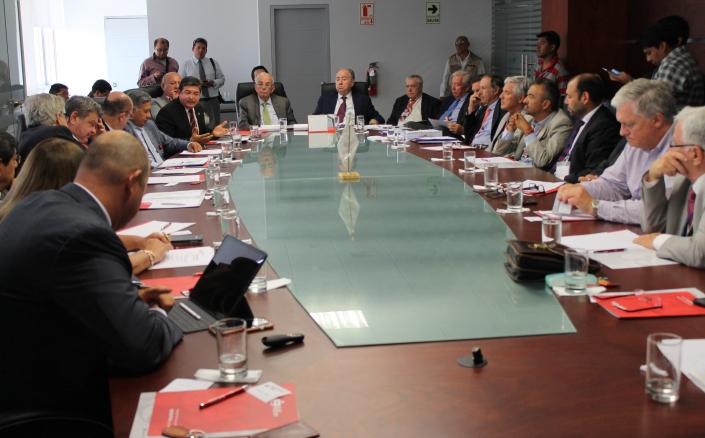 Reunión del Consejo Empresarial Chile-Perú