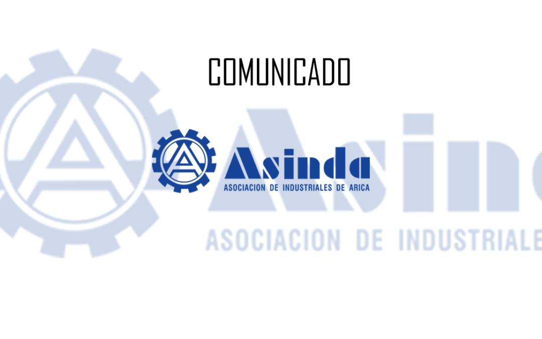 Comunicado Presidente y Directorio Asinda